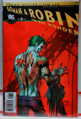 a31bcfacaf6e ALL STAR BATMAN   ROBIN The Boy Wonder  8 Jim Lee Joker Cover CBCS ...