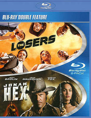 #4 LOSERS/JONAH HEX Double Feature Brand New Blu-Ray FREE SHIPPING