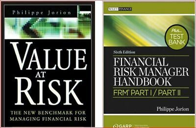 Financial Risk Manager Handbook + Value at Risk  Jorion   4 Phone/Tab/PC*ONLY