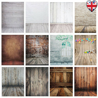 Uk 3X5/5X7/7X5Ft Studio Photo Photography Backdrop Wood Wall Floor Background