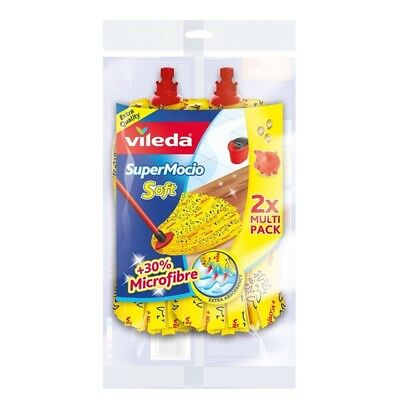 139963-pack 3 recharges 3 x balais vileda magic sponge mop head angle recharge
