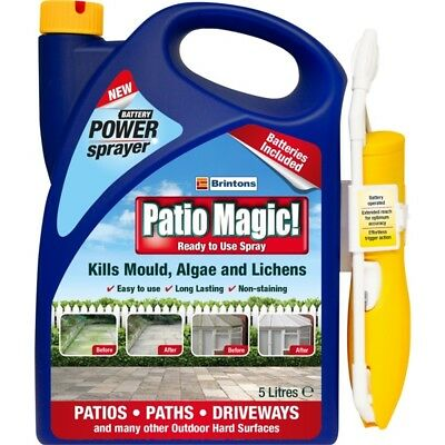 Patio Magic Patio Cleaner, Ready To Use Spray 5l