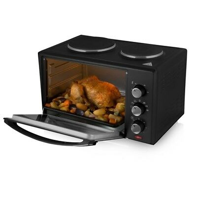 Tower Mini Oven With Hot Plates, 28l