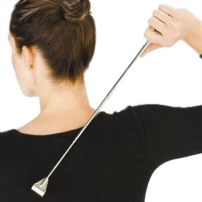 Extendable Back Scratcher 50.5Cm Telescopic Metallic Itchy Spot Back Relief