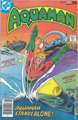 Aquaman (1st Series) #59 1978 VG 4.0 Stock Image Low Grade
