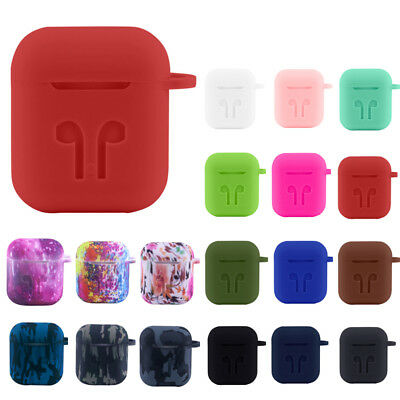 Silicone Case Shockproof Protective Cover Skin For Apple AirPods Charging USA