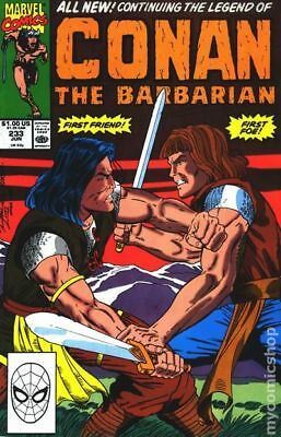 Conan the Barbarian (Marvel) #233 1990 VG Stock Image Low Grade