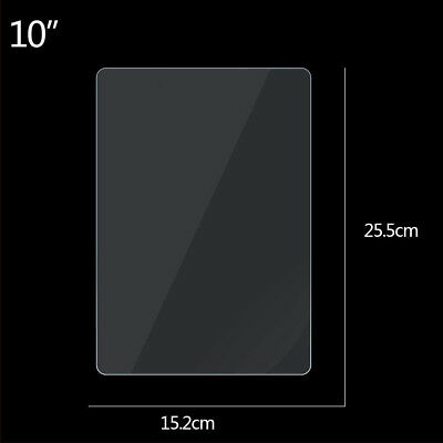 "For 7 8 10"" Tablets Universal Tough Genuine Tempered Glass Screen Protector"