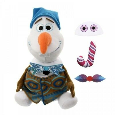 Disney Store Japan Olaf Frozen Adventure Feature Plush Doll Christmas Special