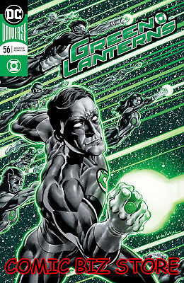 Green Lanterns #56 (2018) 1St Print Perkins Foil Cover Bagged & Boarded Dc Univ
