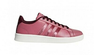 new style b512e bef9d ADIDAS ADVANTAGE Clean CF pink sneakers scarpe donna