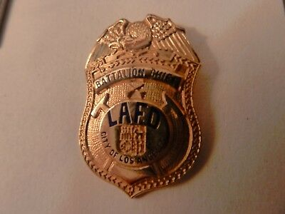 Pin's  Police  Usa  /  Battalion  Chief  / Lafd  / City Of Los Angeles  / Rare