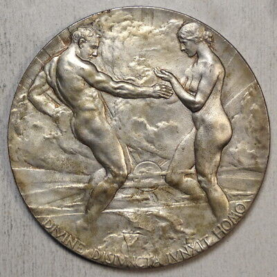 1915 Panama-Pacific Exposition Silver Award Medal, Very Scarce