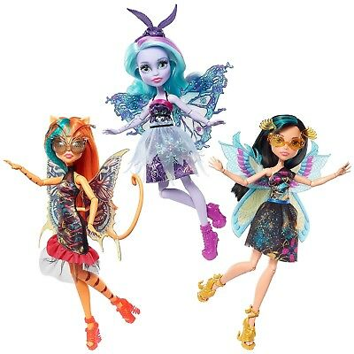 Monster High Garden Ghouls Wings Doll (Pick from Toralei, Twyla, & Cleo De Nile)