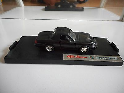 ARC Alfa Romeo Spider in Black on 1:43