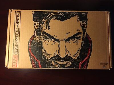 Doctor Strange Marvel Collector Corps EMPTY BOX ONLY - Dr. Stephen Eye Agamotto