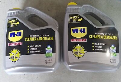 WD-40 Specialist Industrial Strength Cleaner Degreaser Non Aerosol 2 Gallons New