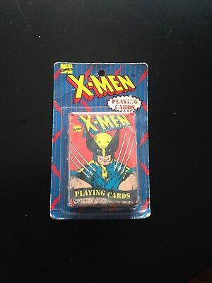 1993 Marvel X-MEN Playing Cards FACTORY SEALED on Card