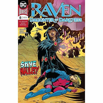 Raven Daughter of Darkness #8 DC Comic Book 2018