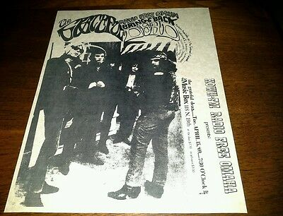 1969 Grateful Dead Concert Poster From Personal Collection Repro