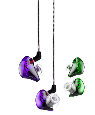 in-Ear Headphones Noise Isolating Dual Drivers Hi-Fi Stereo with DEEP Bass US
