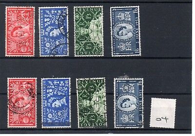 Gb - Wholesale Commems - 1953 - (004) - Coronaton - Two Sets - Used