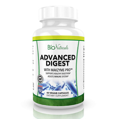Digestive Enzymes All Natural Plant Based Supplement with Probiotics, Bromelain