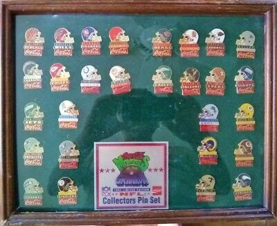 1993 Coca-Cola Monsters of the Gridiron Limited Edition NFL Collector's Pin Set