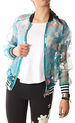 5c17a18838fb ADIDAS ORIGINALS Womens Pharrell Williams KAUWELA TRACK JACKET Size 12 BNWT