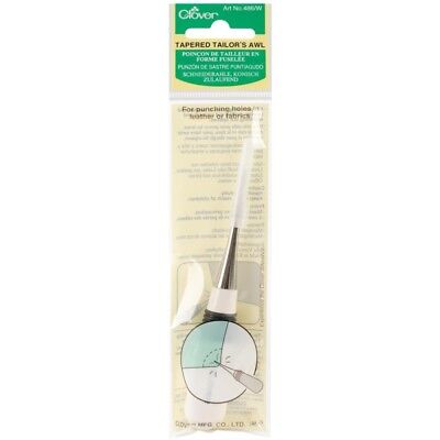 (1, White) - Clover Tapered Tailor's Awl - Tailors