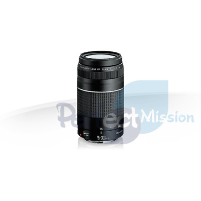 100% New .  Genuine .  Canon EF 75-300mm f/4-5.6 III Retail Pack  + Warranty