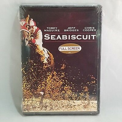 Seabiscuit (Factory Sealed) with Jeff Bridges, Tobey Maguire & Chris Cooper
