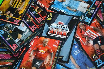 Match Attax 2018/2019 EPL 18/19 (Topps) TCG -{select your}- #1-234 card