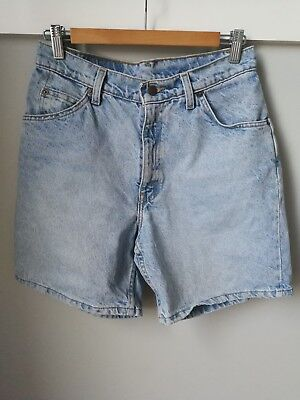 Vintage Levi's 36951 Relaxed Shorts Size 8 Orange Tab High Waisted USA Zip 90s