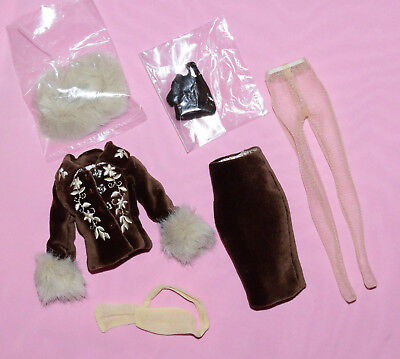 "Tonner 10"" Tiny Kitty Cocoa Truffle Outfit Fits Simone Rouge"