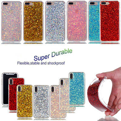 Printed Soft Shockproof TPU Back Case Cove For Samsung iPhone 8 8 Plus 7 6 5S X