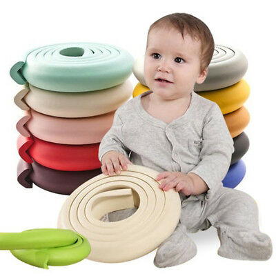 UK Baby Corner Edge Furniture Protectors Soft Safety Protection Cushion Guard