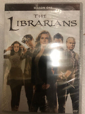 The Librarians: Season 1 Dvd - The Complete First Season [3 Discs] New Unopened