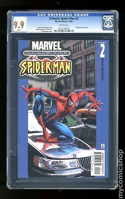 Ultimate Spider-Man #2A 2000 CGC 9.9 0011256006