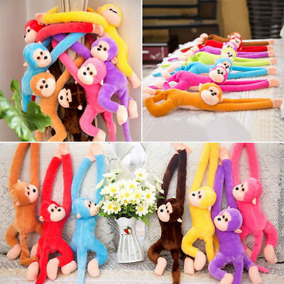Fad Long Arm Hanging Monkey Plush Baby Toys Stuffed Animals Soft Doll Kids TOYS