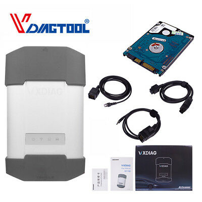 Original VXDIAG VCX Diagnostic Tool For BMW & BENZ 2-in-1 With 1TB HDD