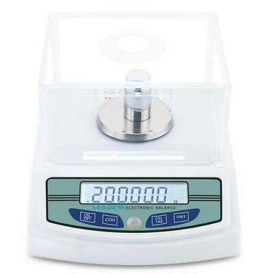 300g x 0.001g Lab Analytical Balance Digital Precision Electronic Scale + Weight