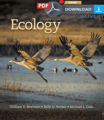 [PDF] Ecology 4th Ed. 2017 - William D. Bowman, Email Deivery