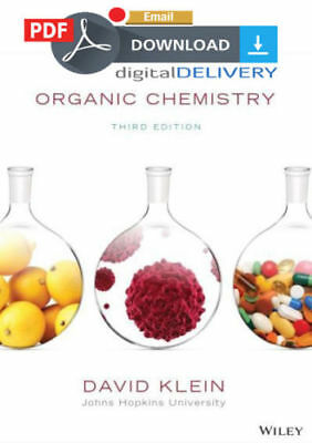 [PDF] Organic Chemistry 3rd Edition,David Klein Offical-TextBook (Email Deivery)