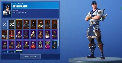 random fortnite account could be stacked