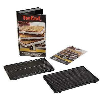 Tefal Snack Collection Wafer Maker Toasted Non Stick Plates Accessories Gift Set