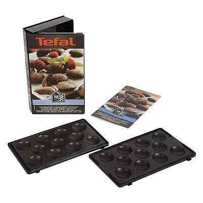 Tefal Snack Collection Mini Bites Maker Toasted Non Stick Plates Accessories Set