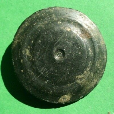 Scarce Ancient Celtic Bronze Solar Decoration - 300 Bc - Rare - Glass Patina
