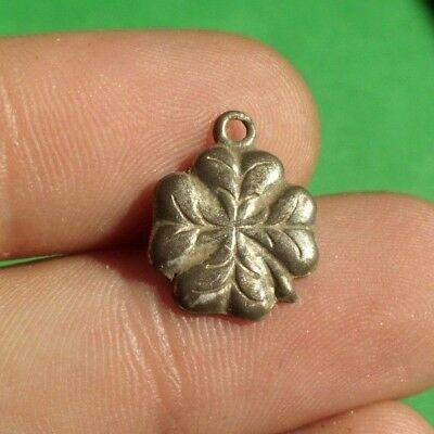 Authentic Ancient Celtic Roman Silver  Amulet Pendant -  Rare!
