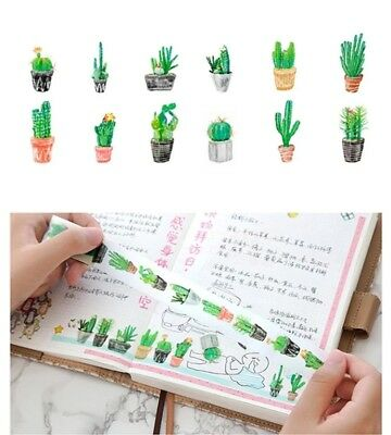 Japan Washi Tape Cactus 25mm wide sold by meter MT162
